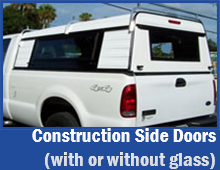 Construction Side Doors with or without Glass